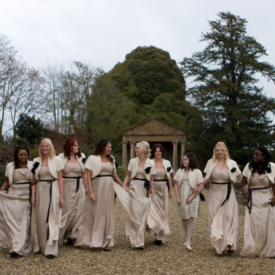 Bridesmaids photos Brympton House weddings