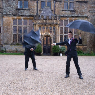 Groom photos Brympton House