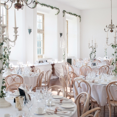 wedding breakfast Brympton House