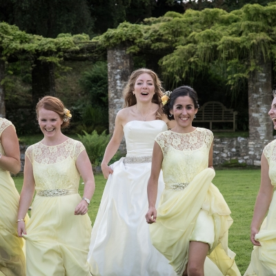 bride-bridesmaids-running