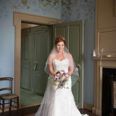 Crowcombe Court bride