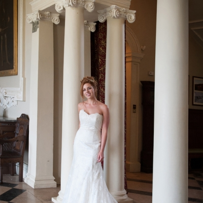 Somerset bride Crowcombe Court
