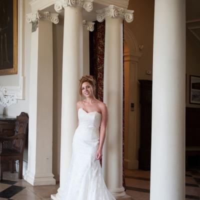 Somerset bride Crowcombe Court