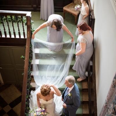 Wedding ceremony Crowcombe Court