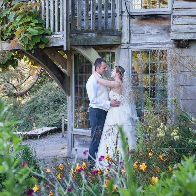 Bride groom Dartington Hall photography Devon