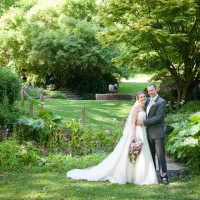 Dartington Hall gardens wedding photography