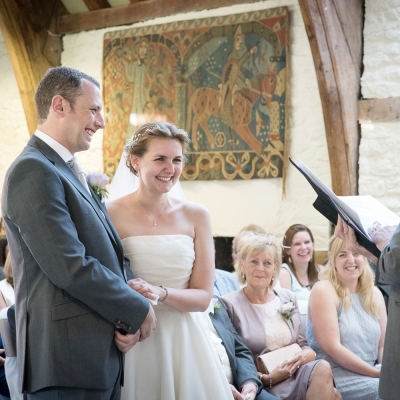 wedding ceremony Dartington Hall wedding venue