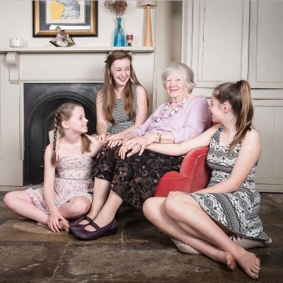 grandma-grandkids