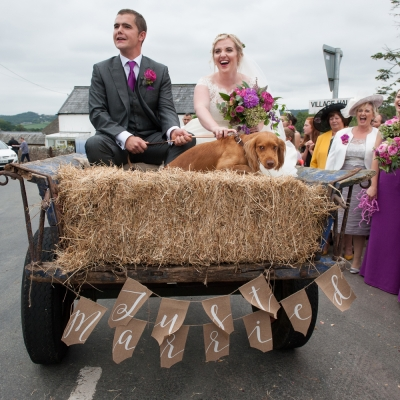 bride-and-groom-on-tractor