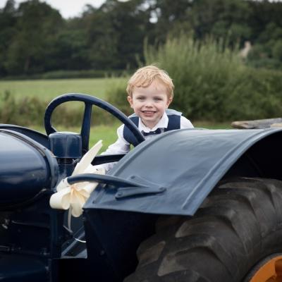 wedding-tractors