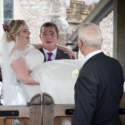 bride-groom-just-married-farm