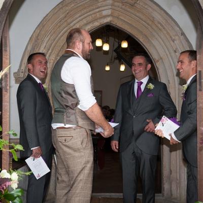 groomsmen-at-the-church
