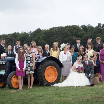 wedding-guests-tractor-photo