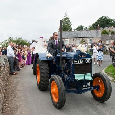 wedding-tractor