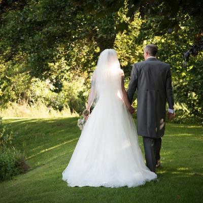 bride and groom haselbury