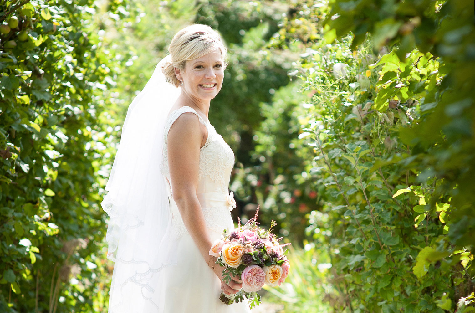 natural country brides Somerset