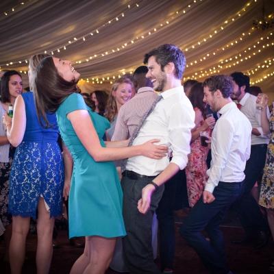 fun wedding party photography Dorset