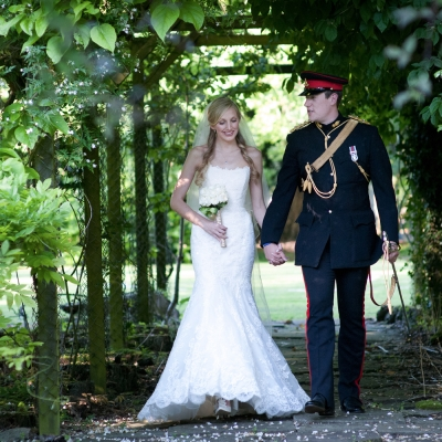 Military wedding Bristol photographer