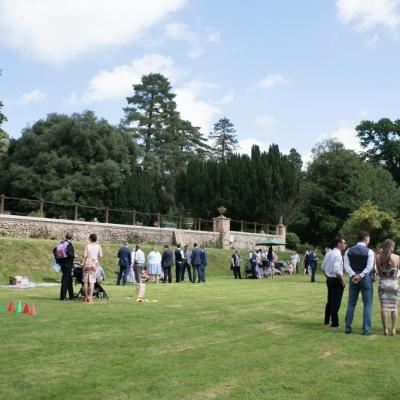 summer weddings tracey estate