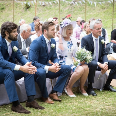 wedding ceremony tracey estate honiton