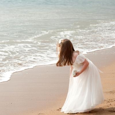flower-girl-beach