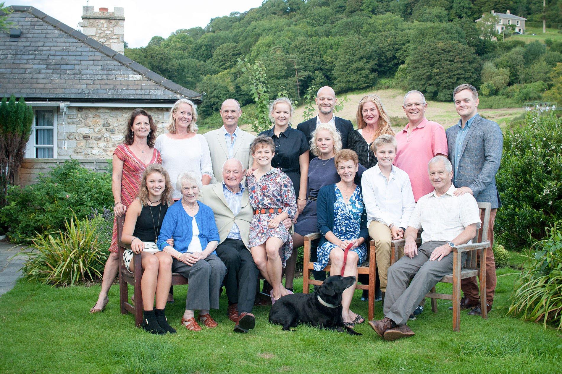 Family Portrait photographer Devon