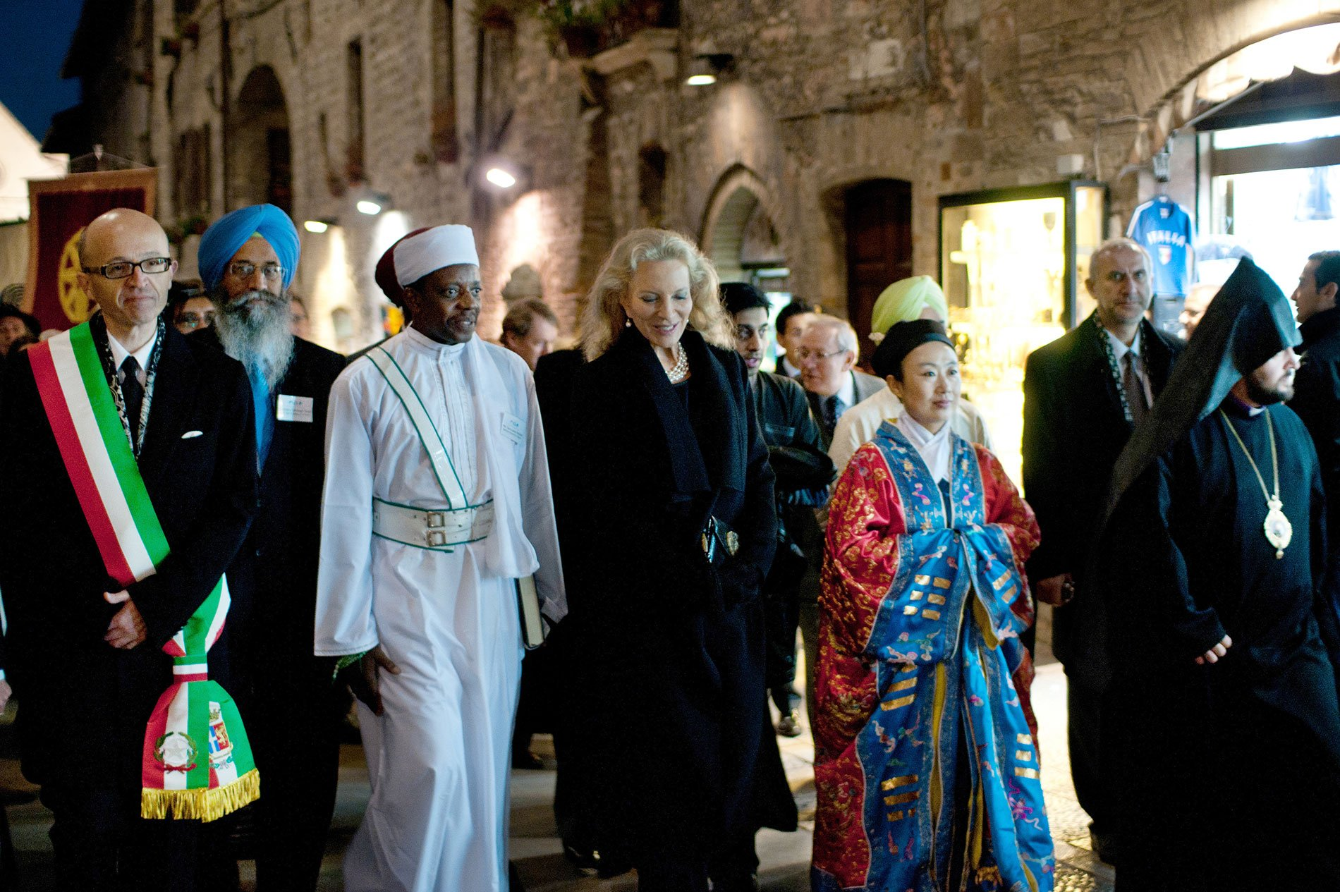 Alliance of Religions & Conservation - Assisi, Lambeth Palace, Buckingham Palace